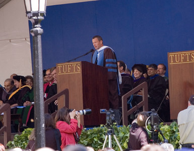 Commencement speaker - Lance Armstrong
