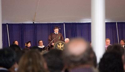 Student Speaker - Mauricio Guzman (from Costa Rica)