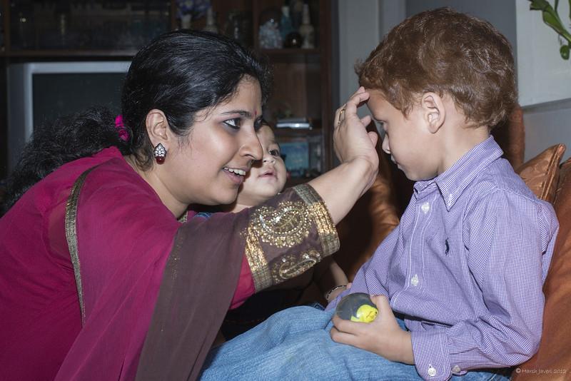 Madhav, Anika, Raksha Bandhan 2012