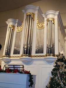 1800 Tannenberg Organ at the Old Salem visitor center