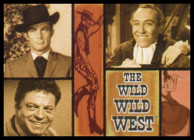 The Wild Wild West TV series was a 1960's takeoff on the popular James Bond movies.  It was also one of my favorites.  The main character was James West, who was a government secret service agent and had all kinds of cool mechanical devices at his disposal. Openning theme: http://www.youtube.com/watch?v=8qbim6I51G4