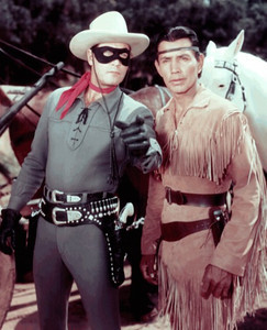 "The Lone Ranger and his ""trusty Indian guide, Tonto"" were popular back then.  This TV series ended in 1957, but the reruns played through the mid 1960's.  Here is a link for the TV intro of the Lone Ranger:  http://www.youtube.com/watch?v=wDedUcmvgL8&NR=1"