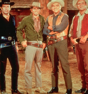 The Western TV series 'Bonanza' ran from the late 1950's through to the early 1970's.  I watched it all through the 1960's.  Theme song and opening credits: http://www.youtube.com/watch?v=mjdRgBAY278