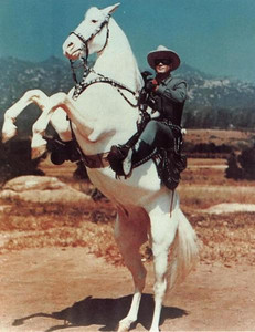 I used to watch a lot of TV westerns in the 1960's.  We didn't get TV reception at the ranch, but I was a regular Lone Ranger rerun fan back home in Newport Beach.