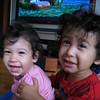 Jaden and Cyane goofing around.