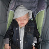 In his manly jean jacket! Just getting back from our daily stroll:)<br /> 10/29/12