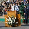 AF JROTC advisor at Choctawatchee High School memorial presentation