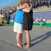 AF widows embrace - Jill Voas, Cassie Lackey