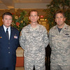 Friends at Dover AFB - CPT Evinger, WO4 Graham Ward, MAJ James Peterson