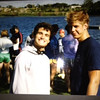 At Round Lake Triathalon - with Steve Lyngdal