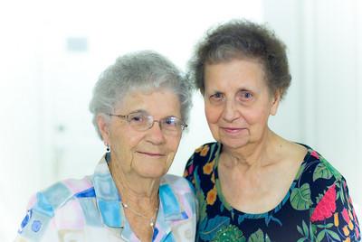 Grandma Dollie and Grandma Ras