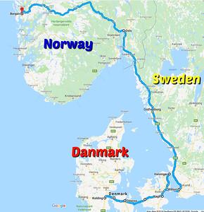Min Dansk Rejser