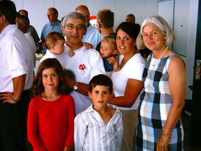Anders and Kirsten (Larsen) Hansen family