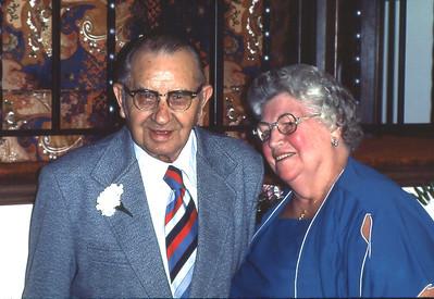 Lester(1908-1992) and Rilda Rasmussen (1909-1995)