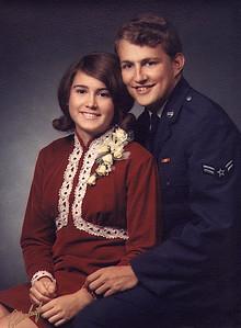 Debbie & Dave Fuller  1970