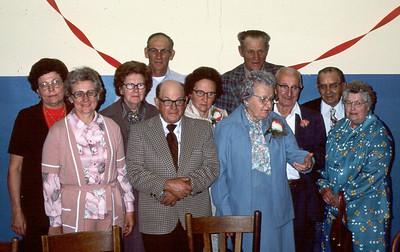 Siblings + spouses + cousin Mabel
