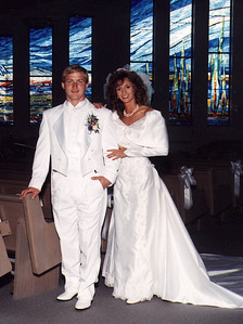 Michelle & Scott 1990