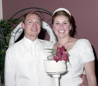Jessica & Benjamin Snaza-Quimby Wedding 2001
