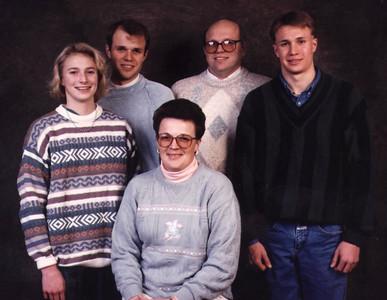 Steve Rasmussen Family circa 1994?