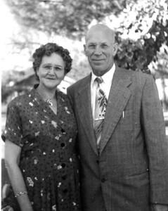 Alma (Sorensen) and Alfred Jensen