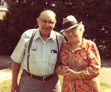 Lester and Dagmar circa 1977