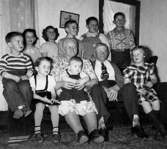 Ole (Pete) & Helene Sorensen family