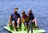 Paddle boat fun