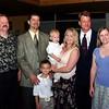 Godparents- Brad, Brian & Nicole