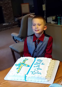Tyler's 1st Communion