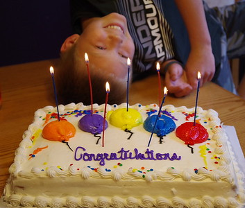 Blow those candles out