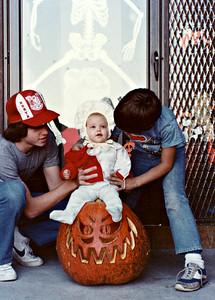 Krista's 1st Halloween -1981