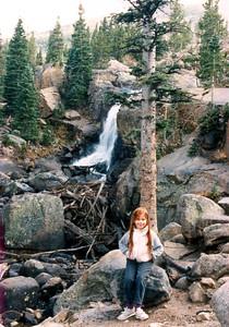 Rest stop at Alberta Falls -1988