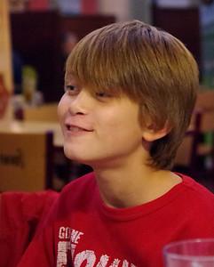 Blake at age 10/11