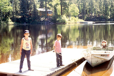 This was near Ely,MN on Lake 13 I believe around 1975.