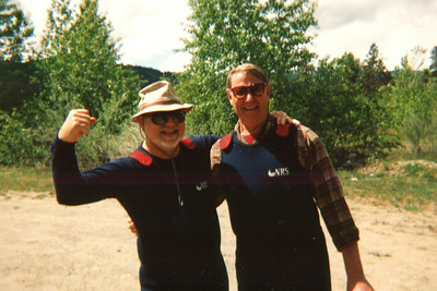 Leavenworth river rafting - 2000