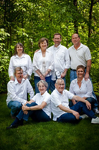 H  Rau Family and spouses 2012-03