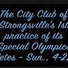 Video:  13 mins ~~ Strongsville City Club Special Olympics Track Club's 1st practice of the season...Sun., 4-22-18
