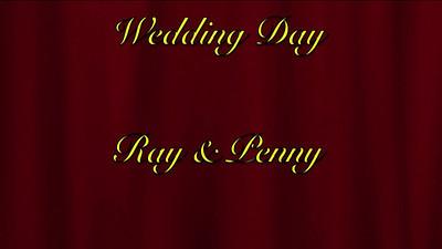 VIDEO;  RAY & PENNY marry in Leintwardine, England, Dec. 1971