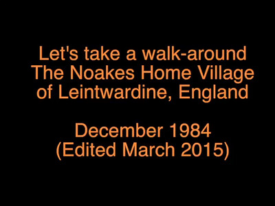VIDEO:  Touring Leintwardine 1984