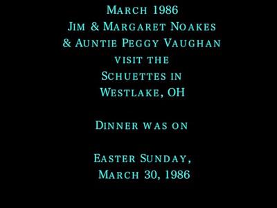 VIDEO:  Noakes/Vaughan/Easter 1986 ( 7 min video)