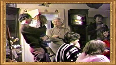 VIDEO:  Family dinner @ the Noakes' Dec. 1984