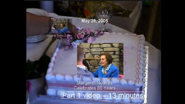 Margaret Noakes 80th Birthday Party