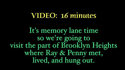 VIDEO:  Brooklyn Heights, NY.. Going down memory lane  ; > )