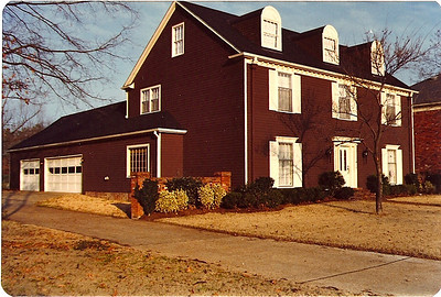 Upon relocation by the railroad in 1980, we moved from Eugene, Oregon to Memphis, Tenn and this is our home in Germantown, Tenn.