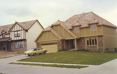 Upon relocation by the railroad in Dec. 1971, Penny and I bought this home in Omaha.