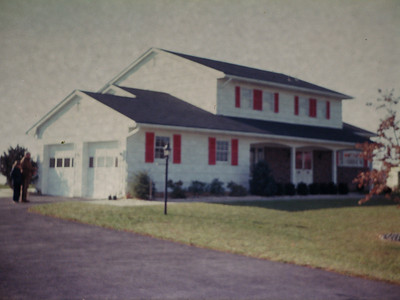 In 1976 the railroad relocated me to the New York Sales Office and Penny and I bought this home in Princeton Jct.