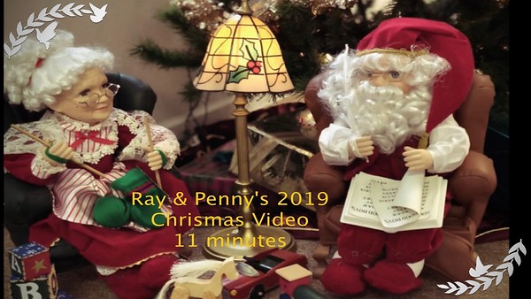Christmas at the Engelmans' - Dec. 2019 (R)  Video:  10 minutes