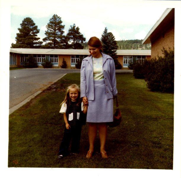 Susan and Raymie Fist day of school