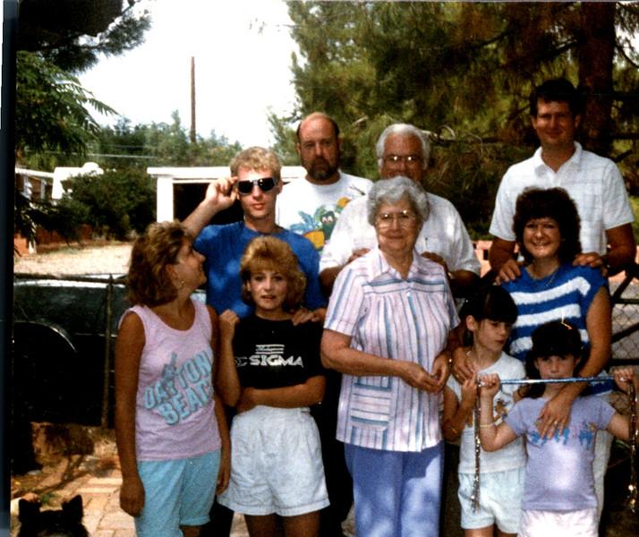 Clint, Mary, Ray, Raymie Bockmans