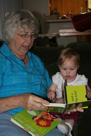 Reading with Grandma Woodmansee 2008-04-30 010